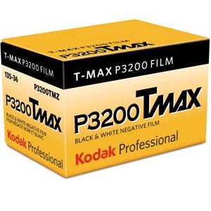Kodak Professional Tmax ISO 3200 36 Exp Black and White 35mm Print Film
