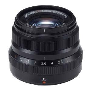 Fujifilm 35mm f2 R WR Fujinon XF Black Lens