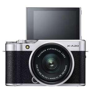 Fujifilm X-A20 | XC 15-45mm Lens | 16.3 MP | APS-C CMOS Sensor | Full HD Video | Wi-Fi