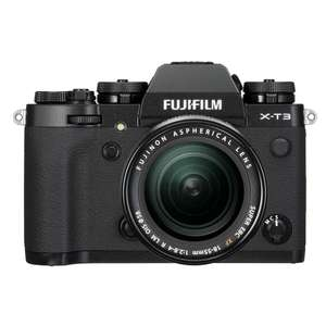 Fujifilm X-T3 | 18-55mm Lens | 26.1 MP | APS-C X-Trans CMOS 4 Sensor | 4K Video | Black