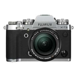 Fujifilm X-T3 | 18-55mm Lens | 26.1 MP | APS-C X-Trans CMOS 4 Sensor | 4K Video | Silver