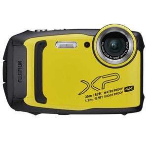 Fujifilm FinePix XP140 Waterproof Camera in Yellow