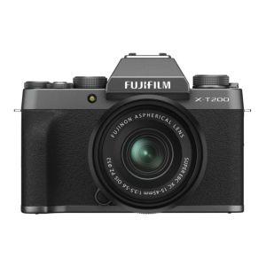 Fujifilm X-T200 | 15-45mm XC Lens | 24.2 MP | APS-C CMOS Sensor | 4K Video | Dark Silver