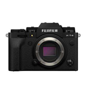 Fujifilm X-T4 | 26.1 MP | X-Trans CMOS Sensor | 4K Video | Wi-Fi & Bluetooth | Black