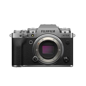 Fujifilm X-T4   26.1 MP   X-Trans CMOS Sensor   4K Video   Wi-Fi & Bluetooth   Silver