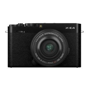 Fujifilm X-E4 Camera with XF 27mm F2.8 R WR Lens