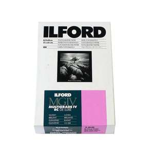 Ilford Multigrade IV RC Deluxe Glossy Paper / 8.9x14cm / 3.5x5.5 inch / 100 Sheets