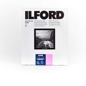 Ilford Multigrade IV RC Deluxe Glossy Paper / 17.8x24cm / 7x9.5 inch / 25 Sheets