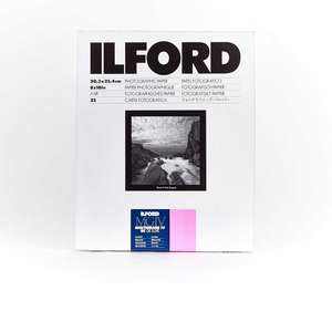 Ilford Multigrade IV RC Deluxe Glossy Paper / 24x30.5cm / 9.5x12 inch / 10 Sheets