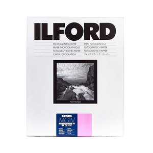 Ilford Multigrade IV RC Deluxe Glossy Paper / 27.9x35.6cm / 11x14 inch / 10 Sheets