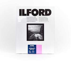 Ilford Multigrade IV RC Deluxe Glossy Paper / 30.5x40.6cm / 12x16 inch / 10 Sheets