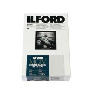 Ilford Multigrade IV RC Deluxe Pearl Paper / 8.9x14cm / 3.5x5.5 inch / 100 Sheets