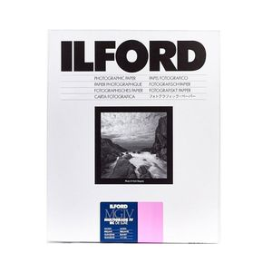 Ilford Multigrade IV RC Deluxe Pearl Paper / 24x30.5cm / 9.5x12 inch / 10 Sheets