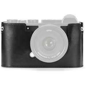 Leica CL Black Leather Camera Protector