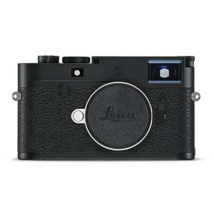 Leica M10-P | Full Frame CMOS Sensor | 24 MP | Wi-Fi | Ultra Quiet | Black