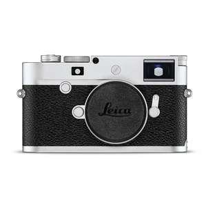 Leica M10-P | Full Frame CMOS Sensor | 24 MP | Wi-Fi | Ultra Quiet | Silver