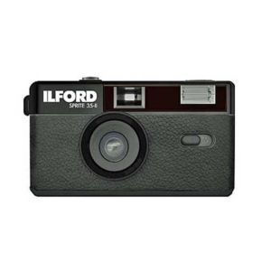Ilford Sprite 35-II Reusable Camera in Black