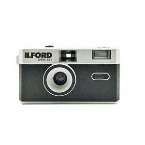 Ilford Sprite 35-II Reusable Camera in Black & Silver