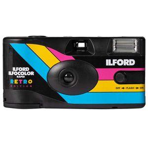 Ilford IlfordColor Rapid Retro Disposable Camera - 400 ISO 27 Exp Colour
