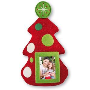 Beanie Christmas Tree Standing Photo Frame Decoration
