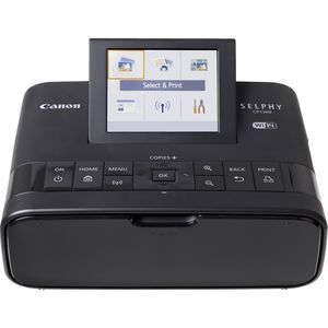 Canon Selphy CP1300 Black Compact Photo Printer