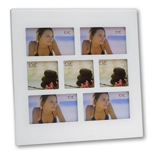 Cassiopea Glass Multi Aperture Photo Frame