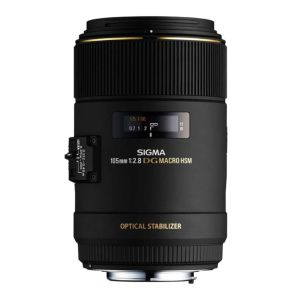 Sigma 105mm f2.8 EX DG OS HSM Lens - Canon Fit