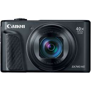 Canon PowerShot SX740 HS Black Digital Camera