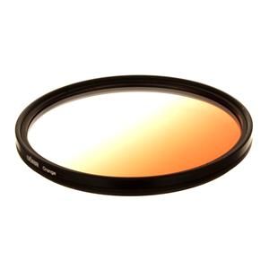 Dorr 77mm Orange Graduated Colour Filter