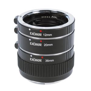 Dorr Extension Tube Set 12/20/36mm Sony A Mount Fit