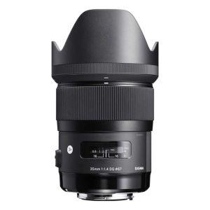 Sigma 35mm f1.4 EX DG HSM Lens - Canon Fit