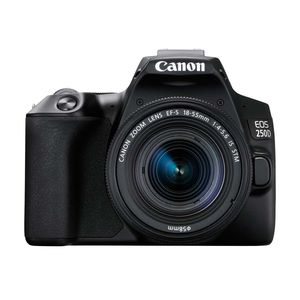 Canon EOS 250D | 18-55mm F4-5.6 Lens | 24.1 MP | APS-C CMOS Sensor | 4K Video | Wi-Fi & Bluetooth