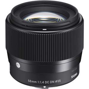 Sigma 56mm F1.4 AF DC DN Contemporary Lens - Sony E Fit