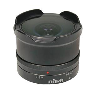 Dorr 12mm f7.4 Fisheye Wide Angle Lens - Fuji X Fit