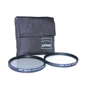 Dorr 62mm Digi Line Filter Kit (UV & Circular Polarizer)