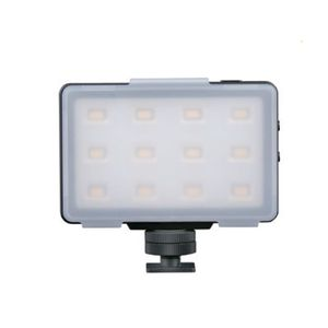 Dorr VL-12S Mini LED Video Light | Built-in Li-ion Battery | Daylight 5600K | 140 Lux/1M | 95 CRI