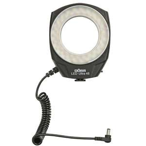 Dorr LED Ultra 48 Macro Ring Light | 48 LEDs | Daylight 5500K - 6500K | 130 Lux/1m