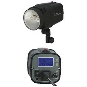 Dorr 300W Smart Light Studio Flash Kit Inc 2x 300W LCD Heads 2x Softboxes 2x Stands