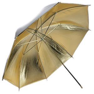 Dorr RS-112 White/Gold Reflector Umbrella