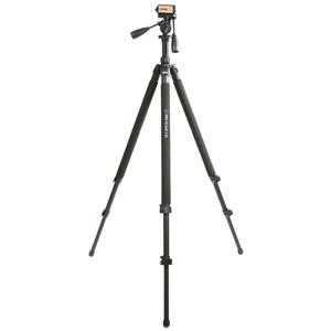 Dorr Pro Black 3XL Tripod | Pan & Tilt Ball Head Included | Quick Release | 3 Sections