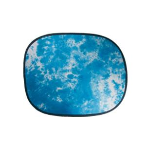 Dorr Dark Blue Clouds Structured Backdrop 158x193cm