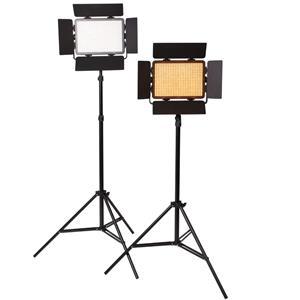 Dorr DLP-600 LED Continuous Lighting Kit | 2 Light Sets | Daylight 5600K or 3200K | 5060 Lux/1m