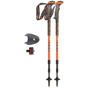 Leki Pair of Carbonlite Trekking Poles with Photo Adapter