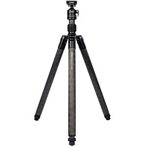 Dorr Highlights C-1740 Carbon 4 Section Tripod with Ball Head