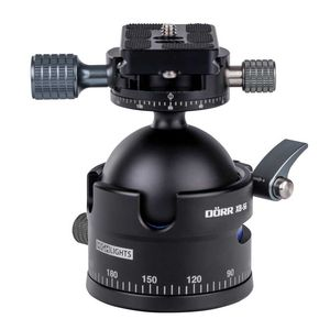 Dorr Highlights XB-56 Ball Head | 15KG Max Load | Quick Release | Case Included