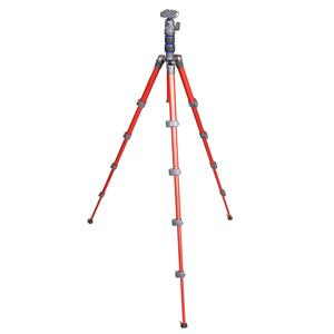 NEST NT-235K Red 5 Section Tripod