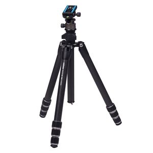 Dorr Racer CR-1440 4 Section Carbon Tripod with CNC 30 Ball Head