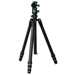 Dorr Racer CR-1700 4 Section Carbon Tripod with CNC 40 Ball Head