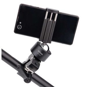 Dorr Smartphone Holder Kit with Holder, Ball Head and Clamp 2kg Max Load, Aluminium