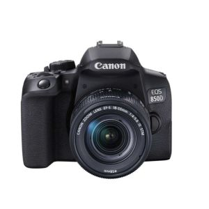 Canon EOS 850D Camera with EF-S 18-55mm IS STM Lens